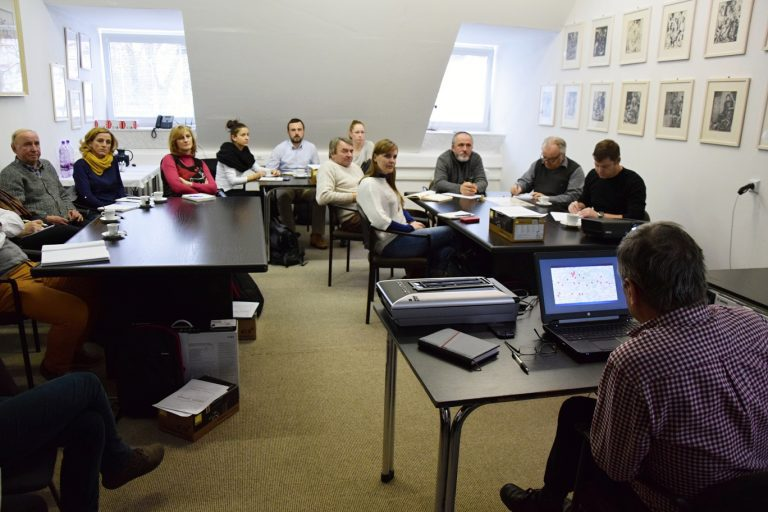 Prvé spoločné školenia akvizičných a digitalizačných tímov projektu // Foto: Michal Veselský