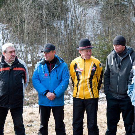 Muži z folklórnej skupiny Telgárt z Telgártu