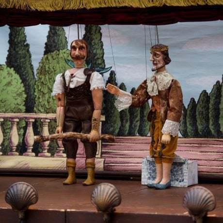Divadlo Tyjátr počas medzinárodného dňa detí v SĽUK-u. Foto: Michal Veselský.