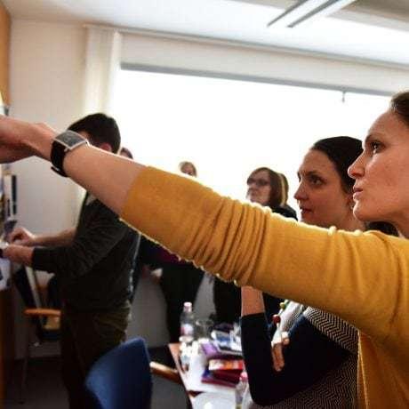 Modrotlač na ceste do UNESCO // Foto: Michal Veselský