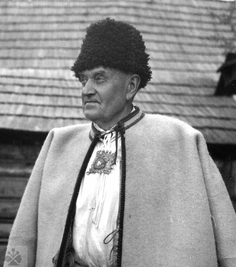 Baranica, Heľpa, okr. Brezno, 1954. Foto: Jana Látalová, Archív negatívov Ústavu etnológie SAV v Bratislave