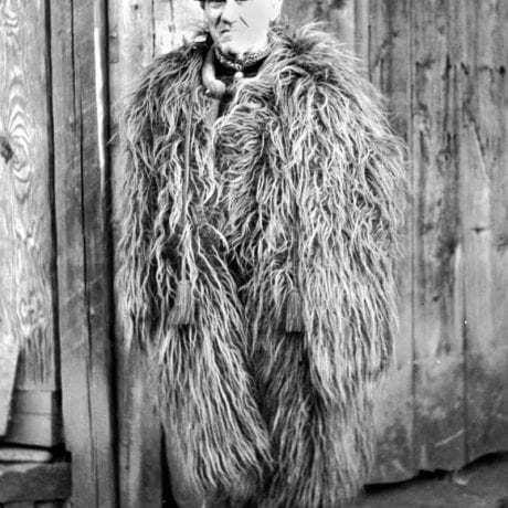 Guba, Veľké Zalužice, okr. Michalovce, 1953. Foto: František Hideg, Archív negatívov Ústavu etnológie SAV v Bratislave
