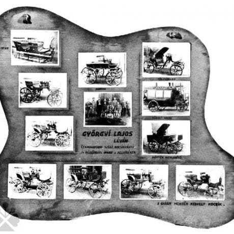 Kolárske výrobky Ľudovíta Gyorgya z Levíc (okr. Levice) z 1. polovice 20. storočia. Súkromný archív M. Kaľavského.