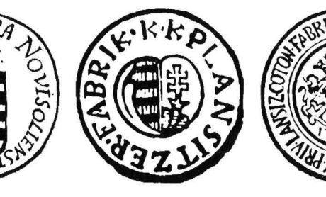 Pečate manufaktúr v Banskej Bystrici ( z roku 1727)