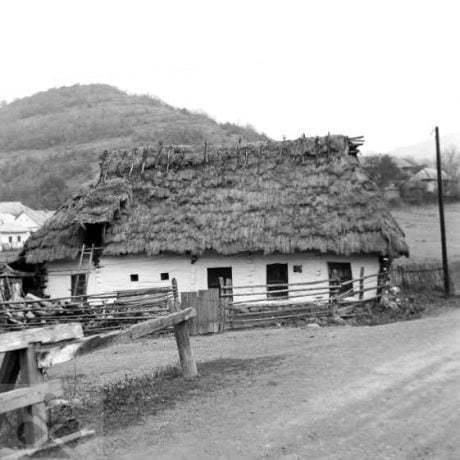 Obecná pastiereň. Vyšná Boca, okr. L. Mikuláš. Archív negatívov Ústav etnológie SAV. Foto J. Botík, 1972.