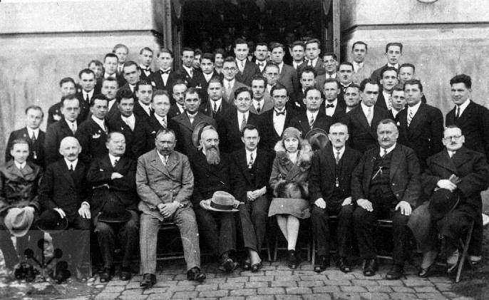 Celoslovenský zjazd mlynárov. Bratislava (okr. Bratislava 1-5), 30. roky 20. storočia. Súkromný archív M. Kaľavského.