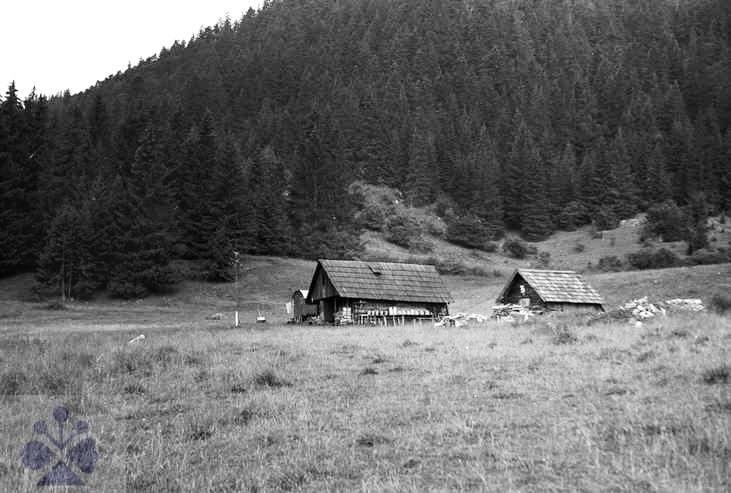 Salaš.  Bobrovček, okr. L. Mikuláš. Archív negatívov Ústavu etnológie SAV. Foto N. Siegelová, 1971.