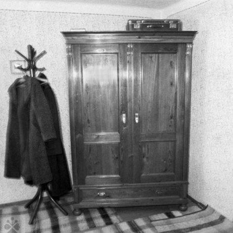 Skriňa, Vyšná Boca, okr. Liptovský Mikuláš, 1969. Foto: Ján Botík. Archív negatívov Ústavu etnológie SAV v Bratislave
