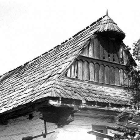 Štít, Heľpa, okr. Brezno, 1971. Foto: Ján Botík. Archív negatívov Ústavu etnológie SAV v Bratislave