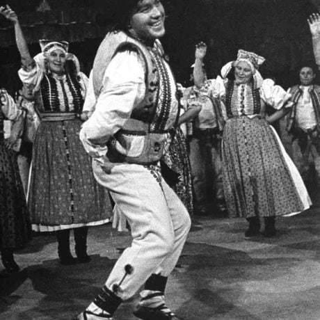 Vojtech Littva z Liptovských Sliačov (okr. Ružomberok). Vedecký archív ÚEt SAV, foto T. Szabó 1967.