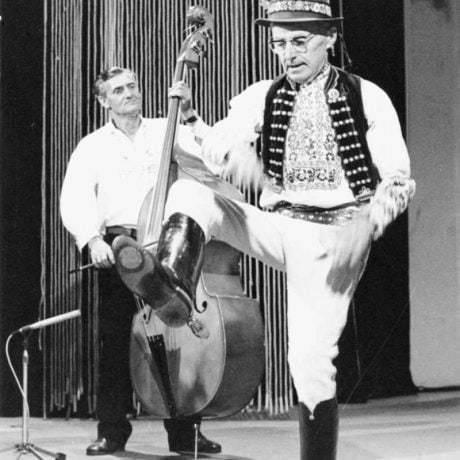 Juraj Šaffa z Dlhého Klčova (okr. Vranov nad Topľou). Vedecký archív ÚEt SAV, foto T. Szabó 1983.