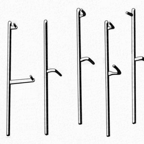 Typy kosísk. Autor A. Mann.  Prevzaté z Slavkovský