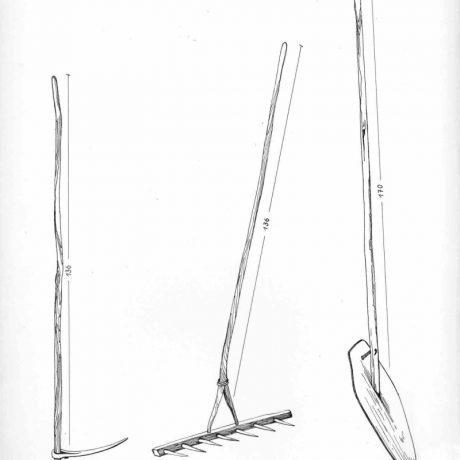 Uhliarske nástroje. Závadka nad Hronom