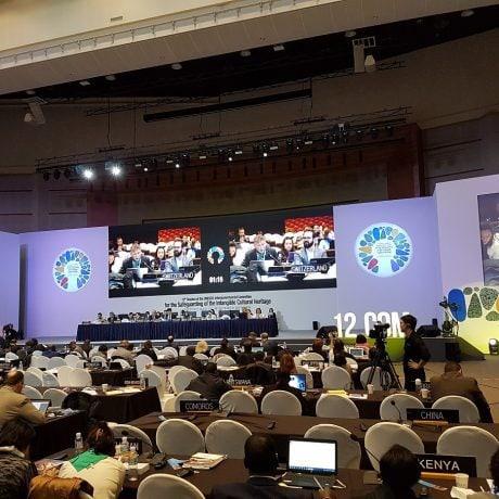 Zasadnutie Medzivládneho výboru UNESCO na juhokórejskom ostrove Jeju.