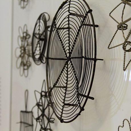 Drotárske výrobky z trvalej expozície drotárstva Považského múzea v Žiline. Foto: Martin Kleibl